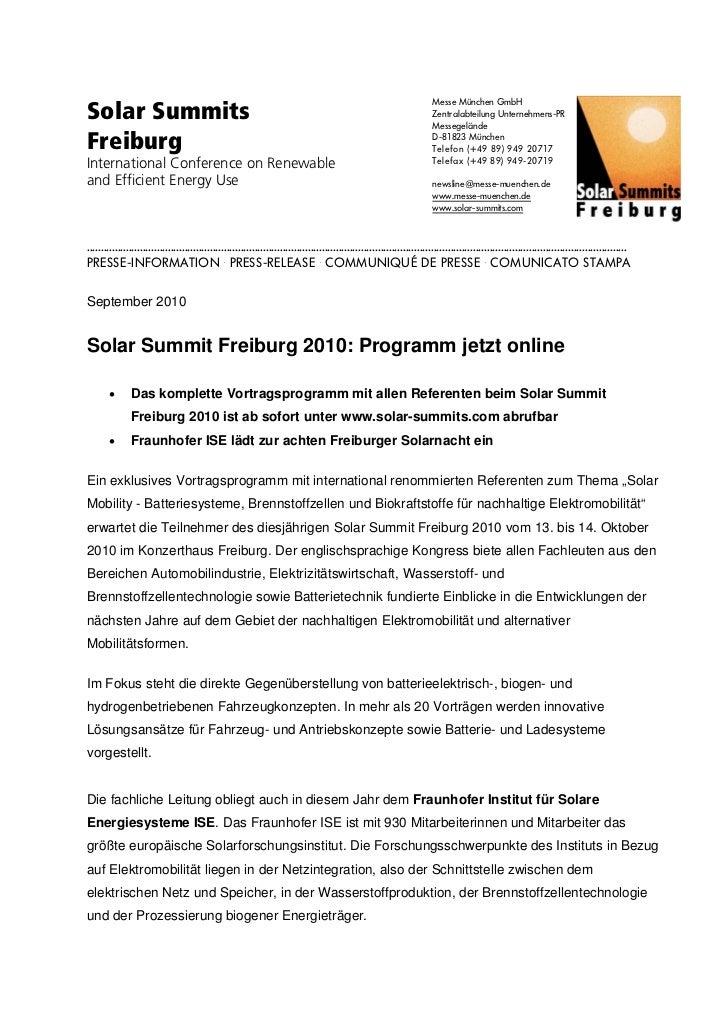 Solar Summits                                                                                                             ...