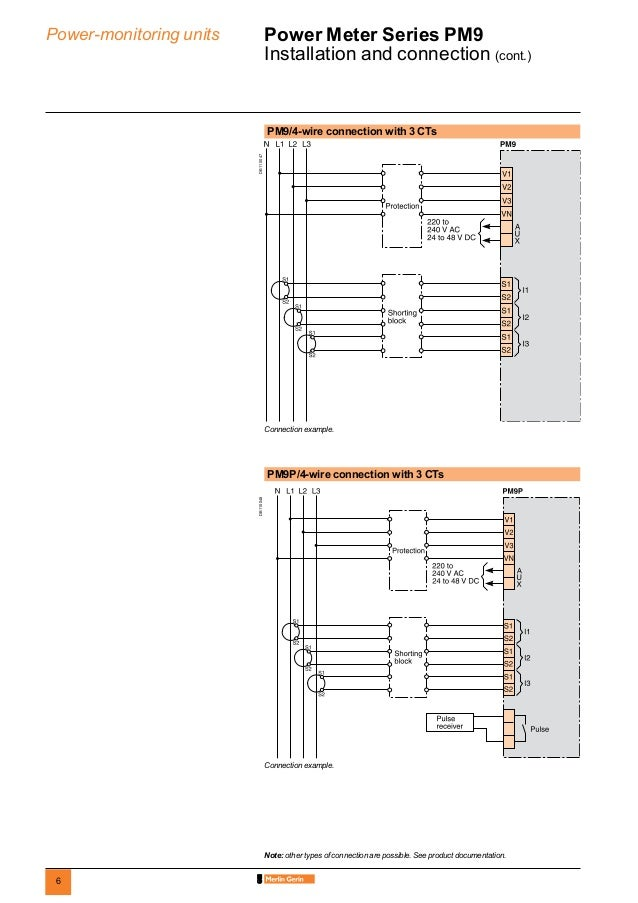pm9 datasheet connection dimensions db101950 6