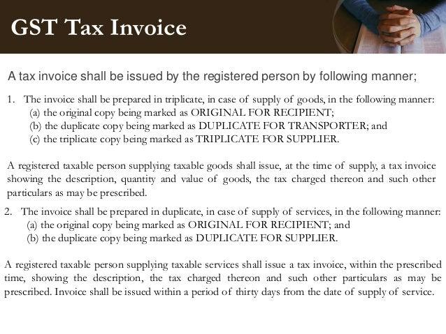Pma 4 Tax Invoice