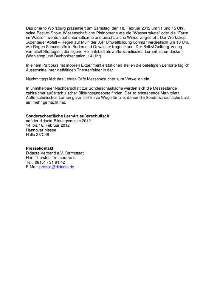 Das phæno Wolfsburg präsentiert am Samstag, den 18. Februar 2012 um 11 und 15 Uhr,seine Best-of-Show. Wissenschaftliche Ph...