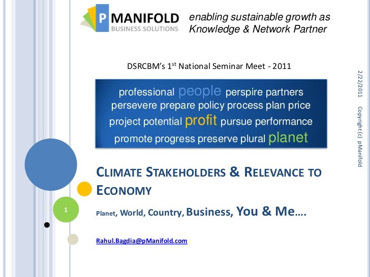 enabling sustainable growth as                                 Knowledge & Network Partner            DSRCBM's 1st Nationa...