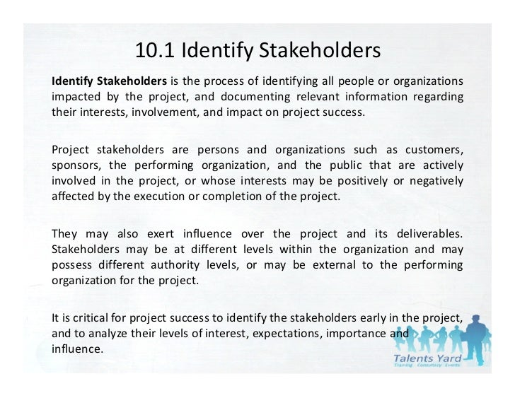 Influence Different Stakeholders Exert In One Organisation Essay  Stakeholders Influence On Business Essaysa Very General Definition