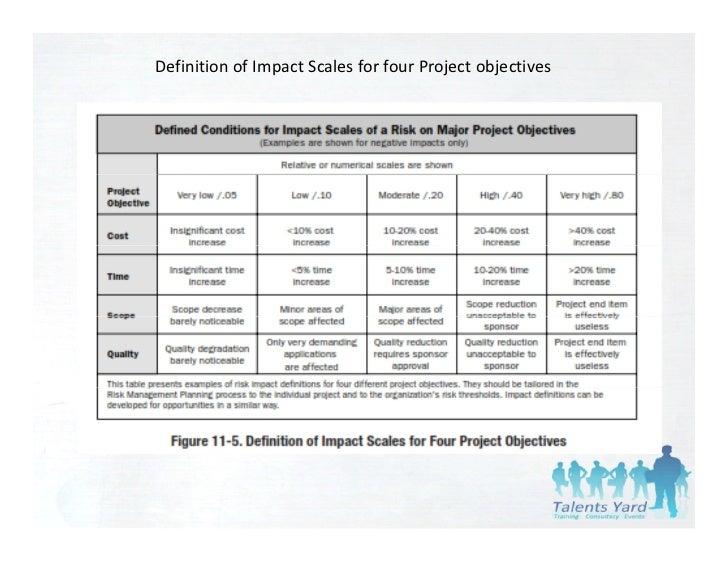 project risk management pmbok pdf