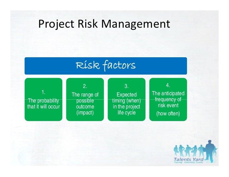 pmbok 4th edition risk management pdf