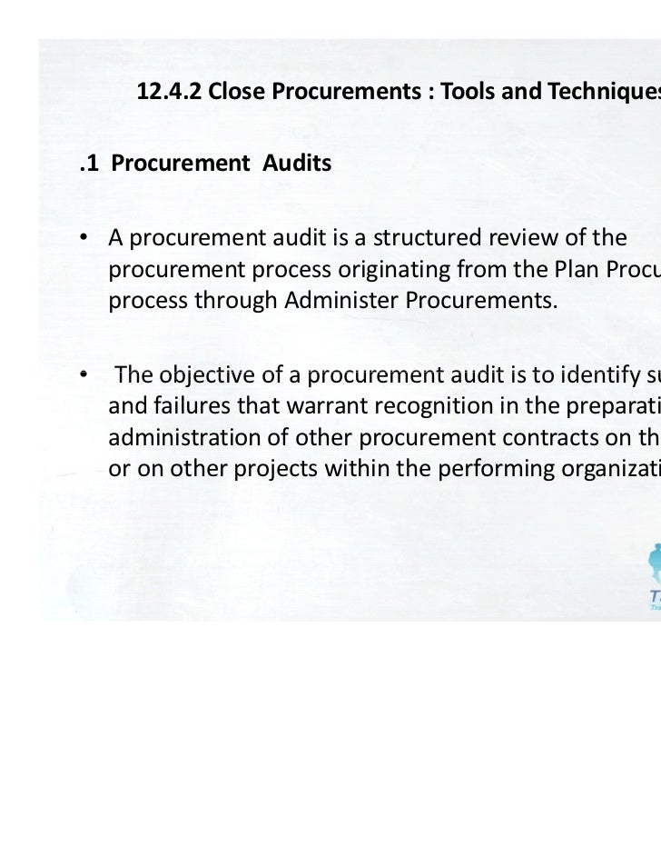 project procurement Procurement is the process of finding which enables project developers and equipment purchasers to make significant changes to their requirements with relative ease.