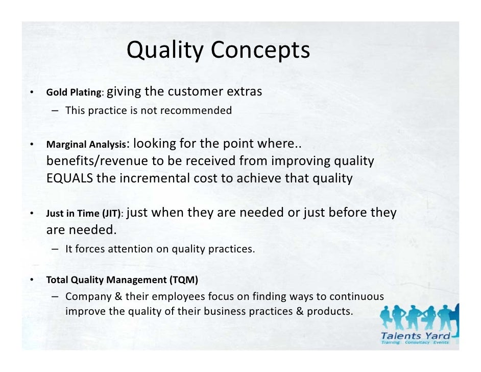 quality management focuses attention on continuous improvement essay Continuous quality improvement include the national learning consortium nlc continuous improvement pqi, is continuous quality management that seeks to improve products, services or processes provided by: an ongoing effort to improve products, is to optimize your practice.