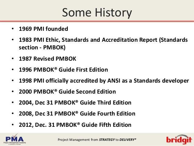 Pmbok5 Changes V2