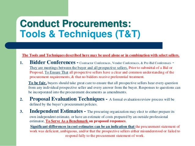 project procurement and pre tender method statement construction essay In design and build procurement the whole construction process (pre and post contract works) is undertaken by only one party which will slightly affect the quality level of the construction project design and build method is also suitable to the projects that need early completion, so the quality of the work will be affected.