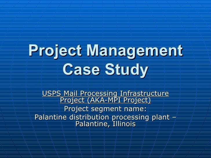 Project management case study yorkshire house