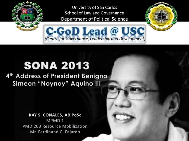 University of San Carlos School of Law and Governance Department of Political Science