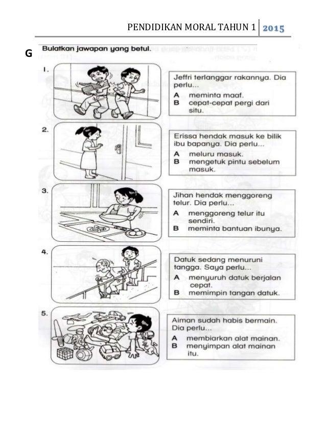 Peperiksaan Akhir Tahun Pendidikan Moral Tahun 1