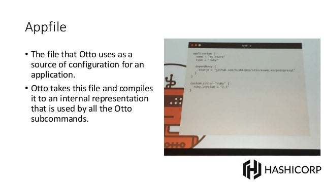 Hashicorp delivering the tao of devops for Hashicorp otto