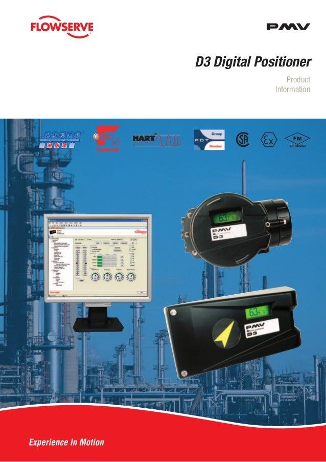 Product Information D3 Digital Positioner