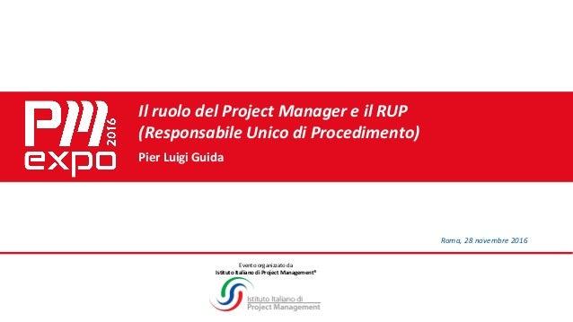UNI 11648 - Pier Luigi Guida - RUP