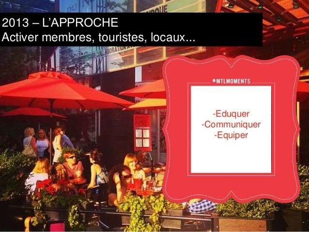 2013/14 – L'APPROCHE  Amplifier les histoires  Inspirer Activer Amplifier