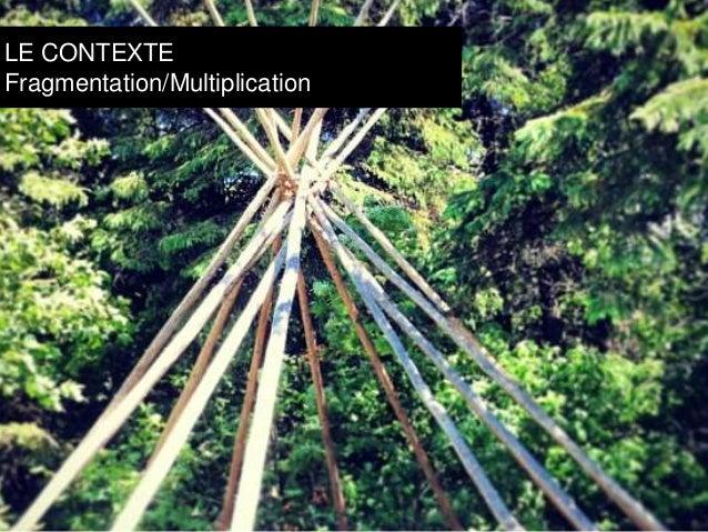 LE CONTEXTE  Fragmentation/Multiplication