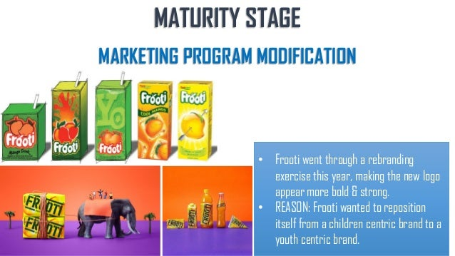 Products At Maturity Stage