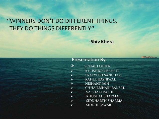 You Can Win-Shiv Khera Slide 2