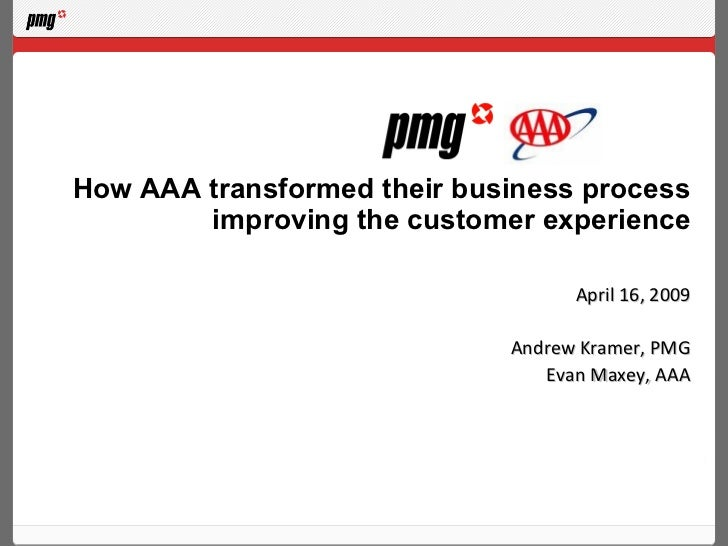 How AAA transformed their business process        improving the customer experience                                   Apri...