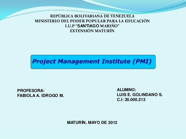 """REPÚBLICA BOLIVARIANA DE VENEZUELAMINISTERIO DEL PODER POPULAR PARA LA EDUCACIÓNI.U.P """"SANTIAGO MARIÑO""""EXTENSIÓN MATURÍNPR..."""