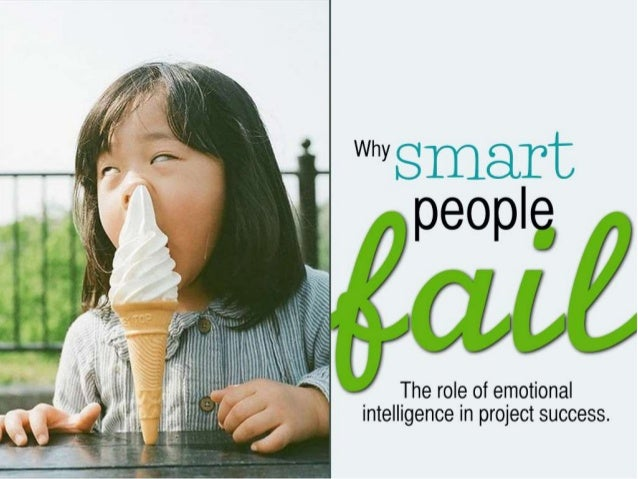 "Why 8 fii""_~T_1E: '.fi""'C  ipeopie,   i i i  i, / / e'/  / /    The role of emotional intelligence in project success."