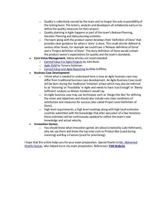 Free PMI-ACP® Study Guide   Cape Project Management, Inc.
