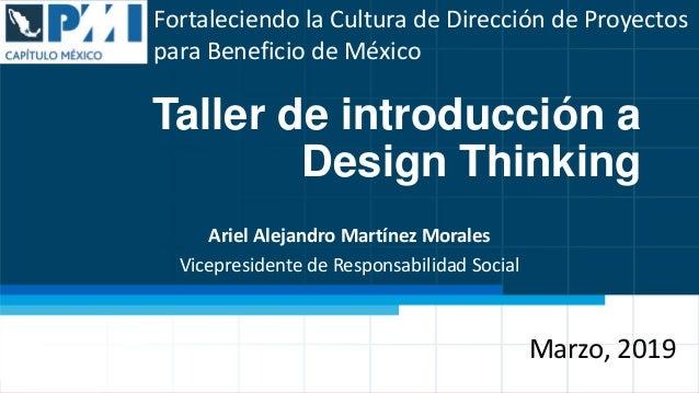 Fortaleciendo la Cultura de Dirección de Proyectos para Beneficio de México Fortaleciendo la Cultura de Dirección de Proye...