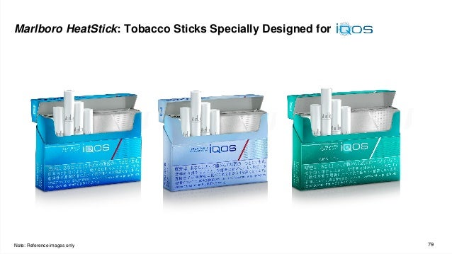 79 Marlboro HeatStick: Tobacco Sticks Specially Designed for Note: Reference images only