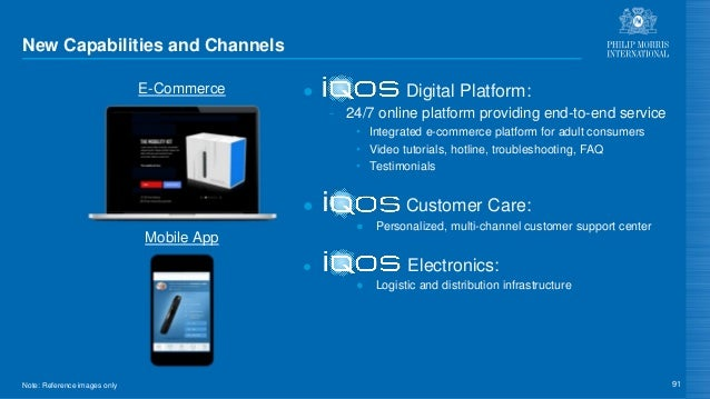 New Capabilities and Channels ● Digital Platform: - 24/7 online platform providing end-to-end service • Integrated e-comme...
