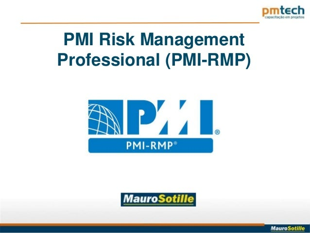 PMI Risk ManagementProfessional (PMI-RMP)