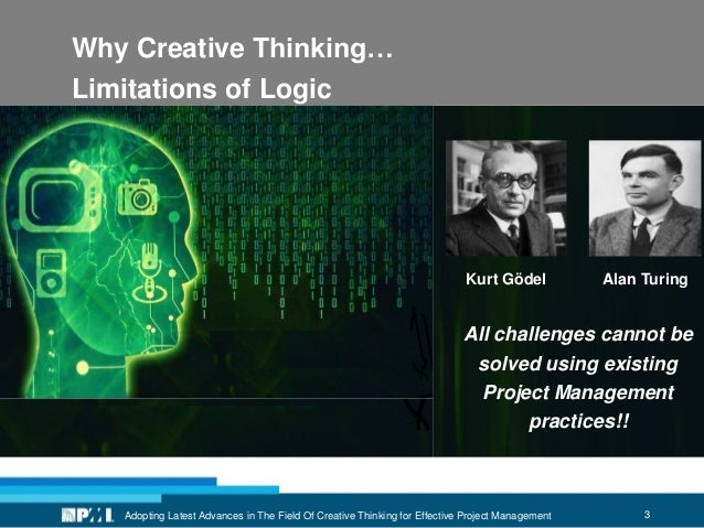 3 Why Creative Thinking… Limitations of Logic Adopting Latest Advances in The Field Of Creative Thinking for Effective Pro...