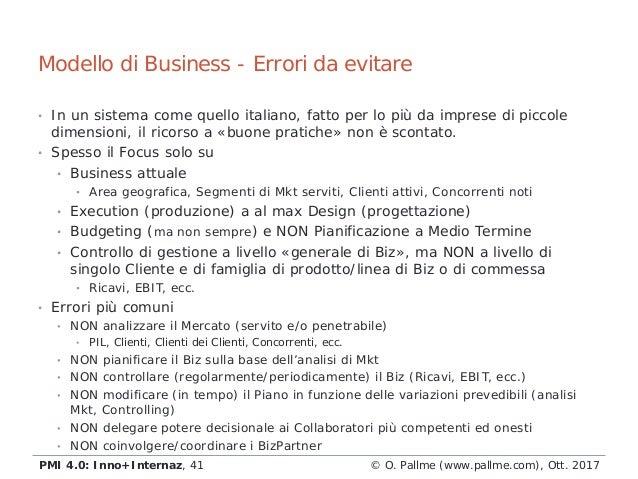• In un sistema come quello italiano, fatto per lo più da imprese di piccole dimensioni, il ricorso a «buone pratiche» non...