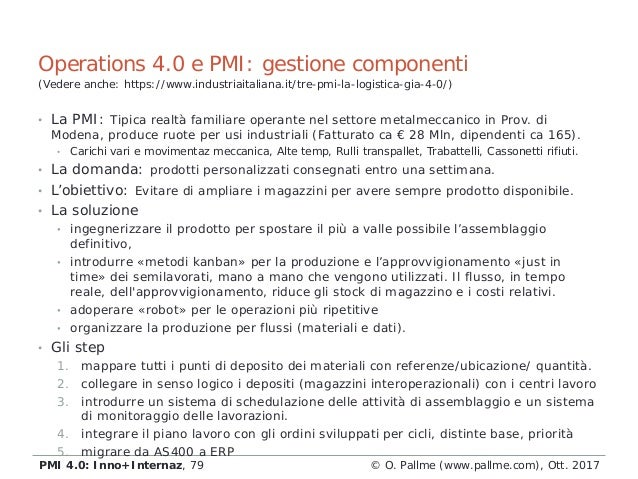 • La PMI: Tipica realtà familiare operante nel settore metalmeccanico in Prov. di Modena, produce ruote per usi industrial...