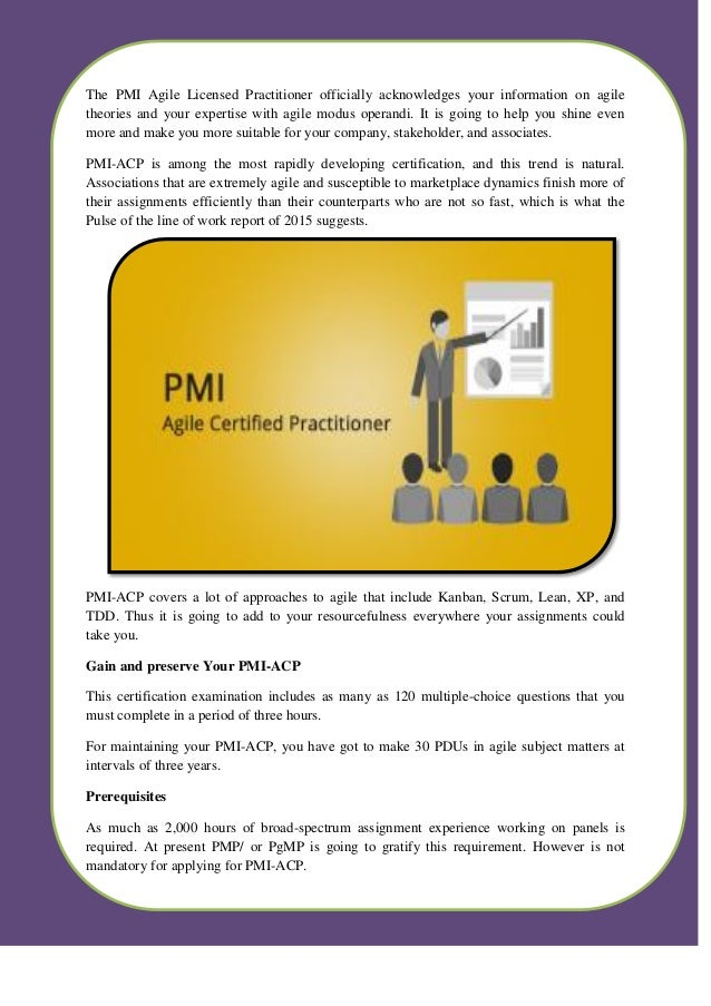 Pmi Acp Certification Training In Hyderabad By Excel R
