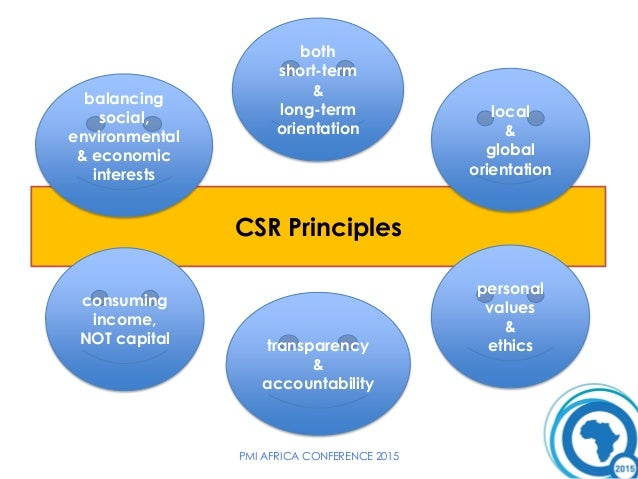 The 2018 Corporate Social Responsibility (CSR) report