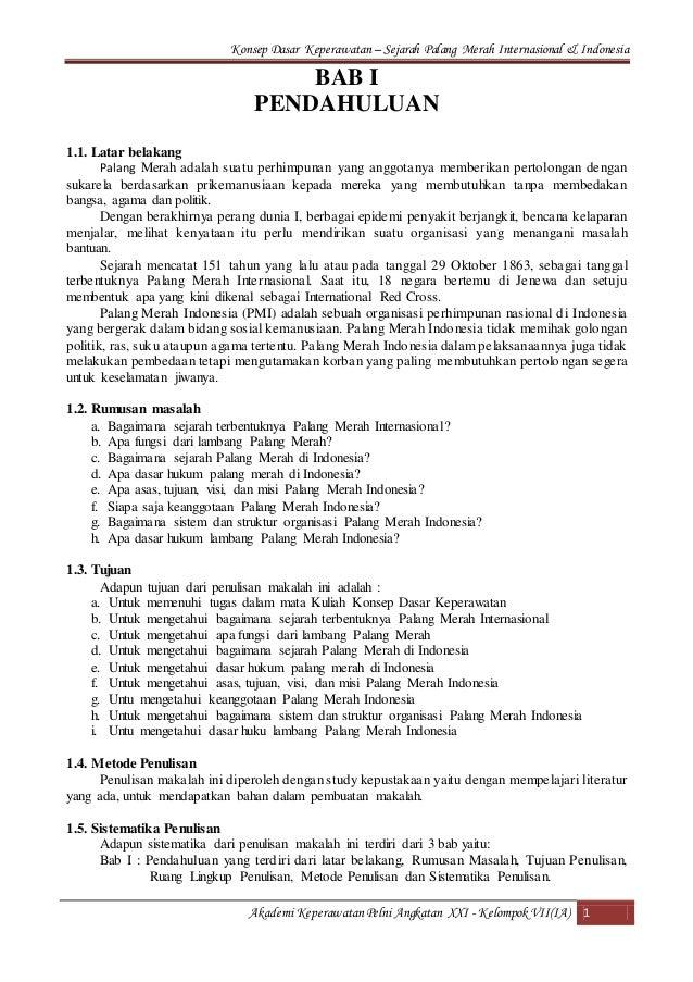 Sejarah Palang Merah Internasional Dan Indonesia