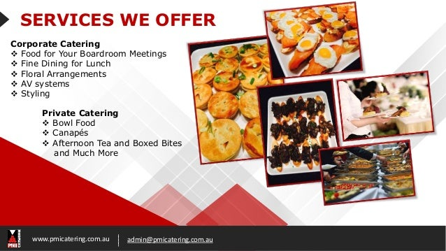 Perth catering companies for Catering companies