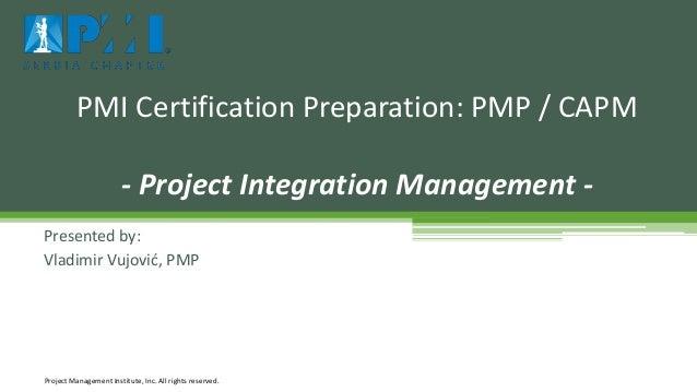 capm pmp project management certification pdf
