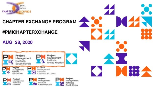 CHAPTER EXCHANGE PROGRAM #PMICHAPTERXCHANGE AUG 28, 2020
