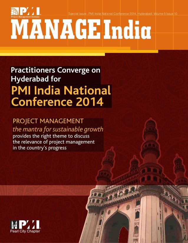 Practitioners Converge On Hyderabad For Pmi India National Conference