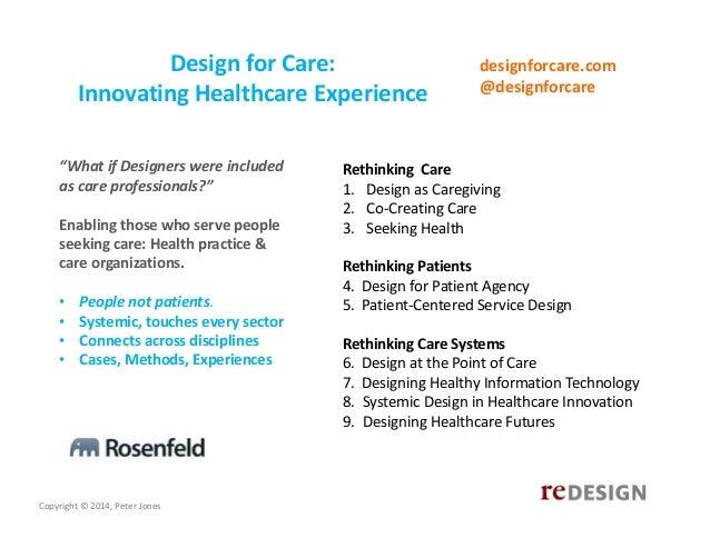 Managing Healthcare Innovation as a Design Process  Slide 3