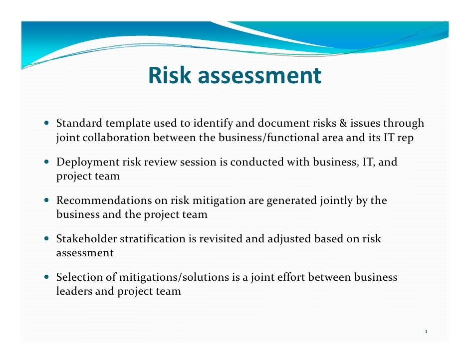 A Risk Management-Driven Deployment Framework for Project Ownership/A…