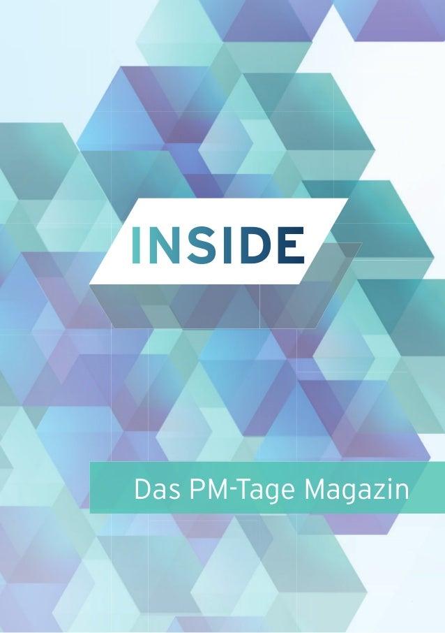 11 Das PM-Tage Magazin INSIDE