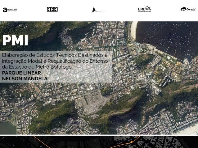 Masterplan Parque Linear Nelson Mandela