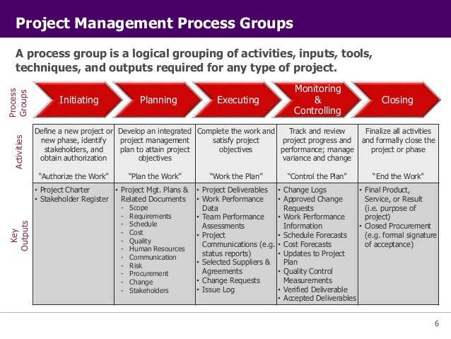 project management project eight essay