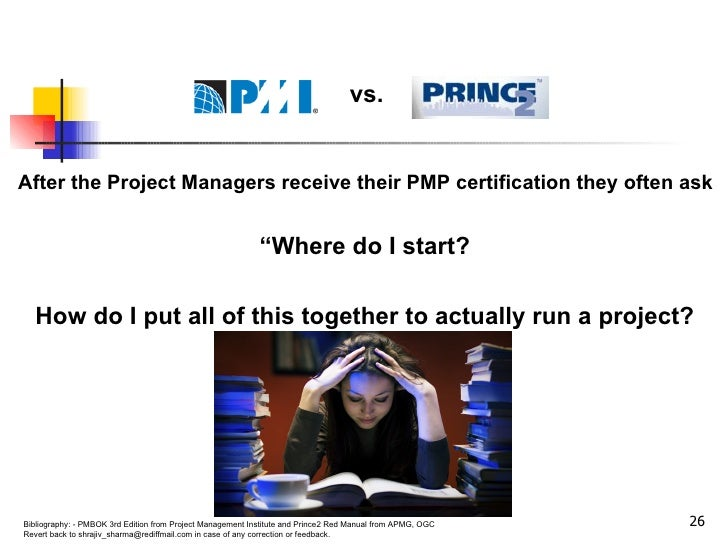 """After the Project Managers receive their PMP certification they often ask  """" Where do I start?  How do I put all of this t..."""