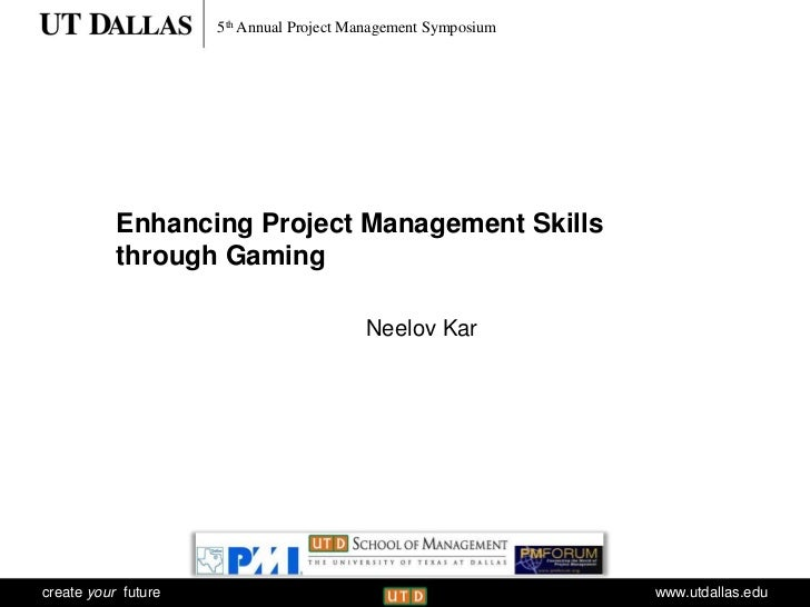 5th Annual Project Management Symposium                     Communications           Enhancing Project Management Skills  ...