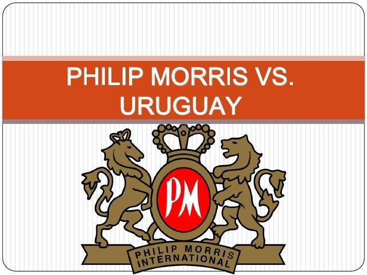 PHILIP MORRIS VS. URUGUAY<br />