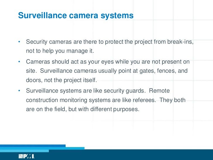 Using Cameras and Remote Monitoring in Construction Projects – Site Security Plan For Construction Project