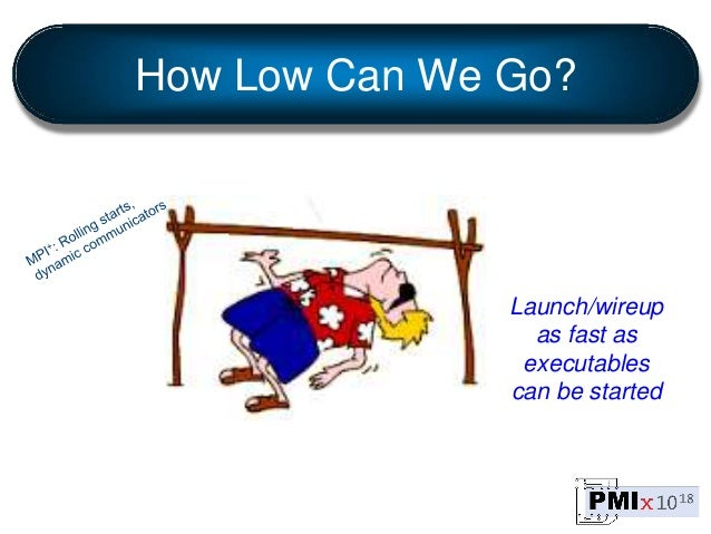 How Low Can We Go? Launch/wireup as fast as executables can be started